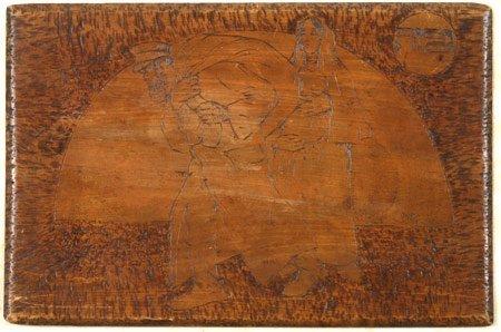 8:  Artist Name:  Reuven Rubin Exile