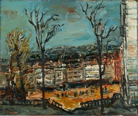 10:  Artist Name:  Yitzhak Frenkel (Frenel) Urbanite la