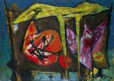 12:  Artist Name:  Marcel Janco Forms