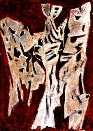 23:  Artist Name:  Yosl Bergner Angels