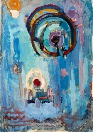 24:  Artist Name:  Mordechai Levanon Divine presence
