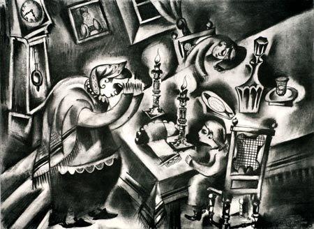 341:  Artist Name:  Issachar Ryback Shtetel