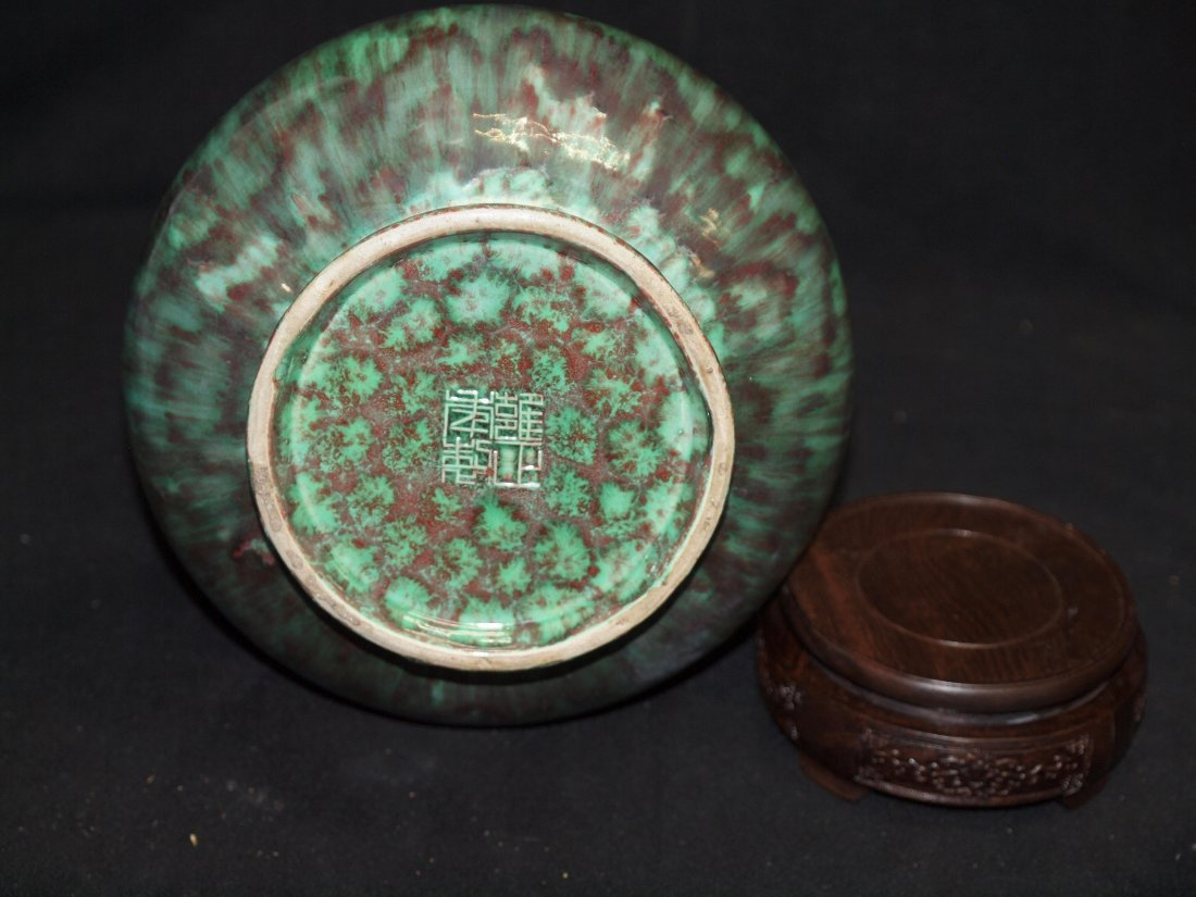 Green Glazed with Red colour and Marking - 3