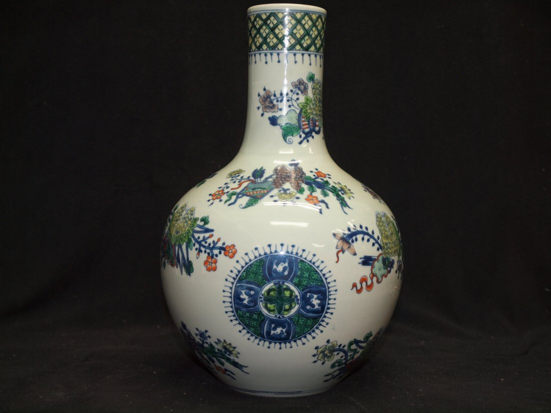 Doucai Vase with Markings