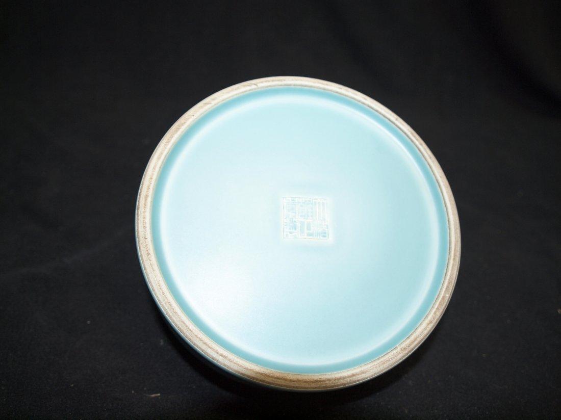 Blue Brush Wash with Marking - 2