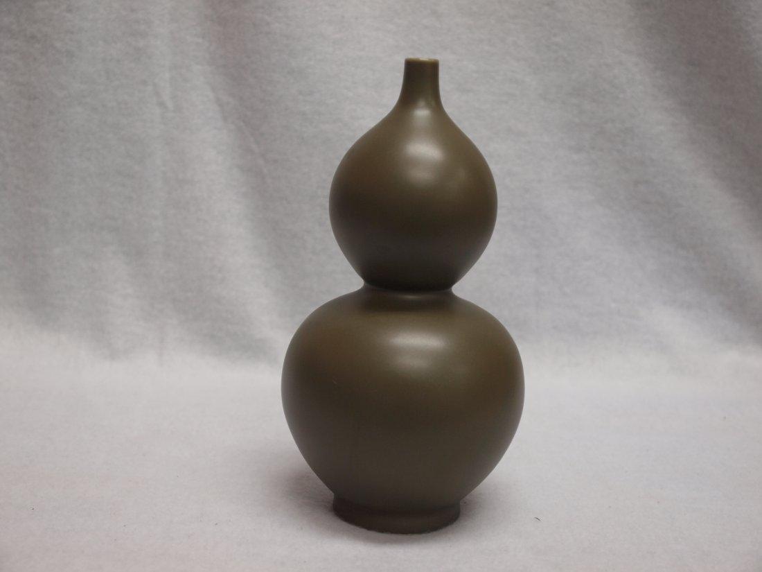 Tea Green colour Cabash-Shape Vase