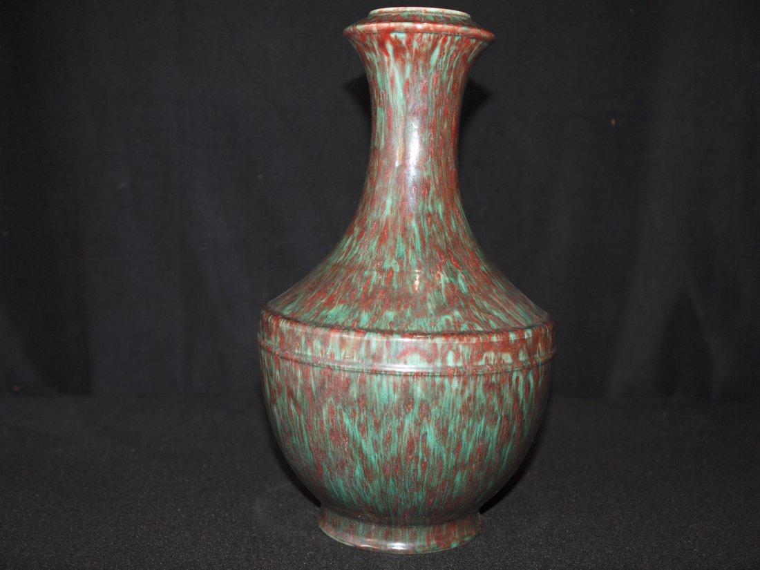 Under Glazed Multi Colour Vase