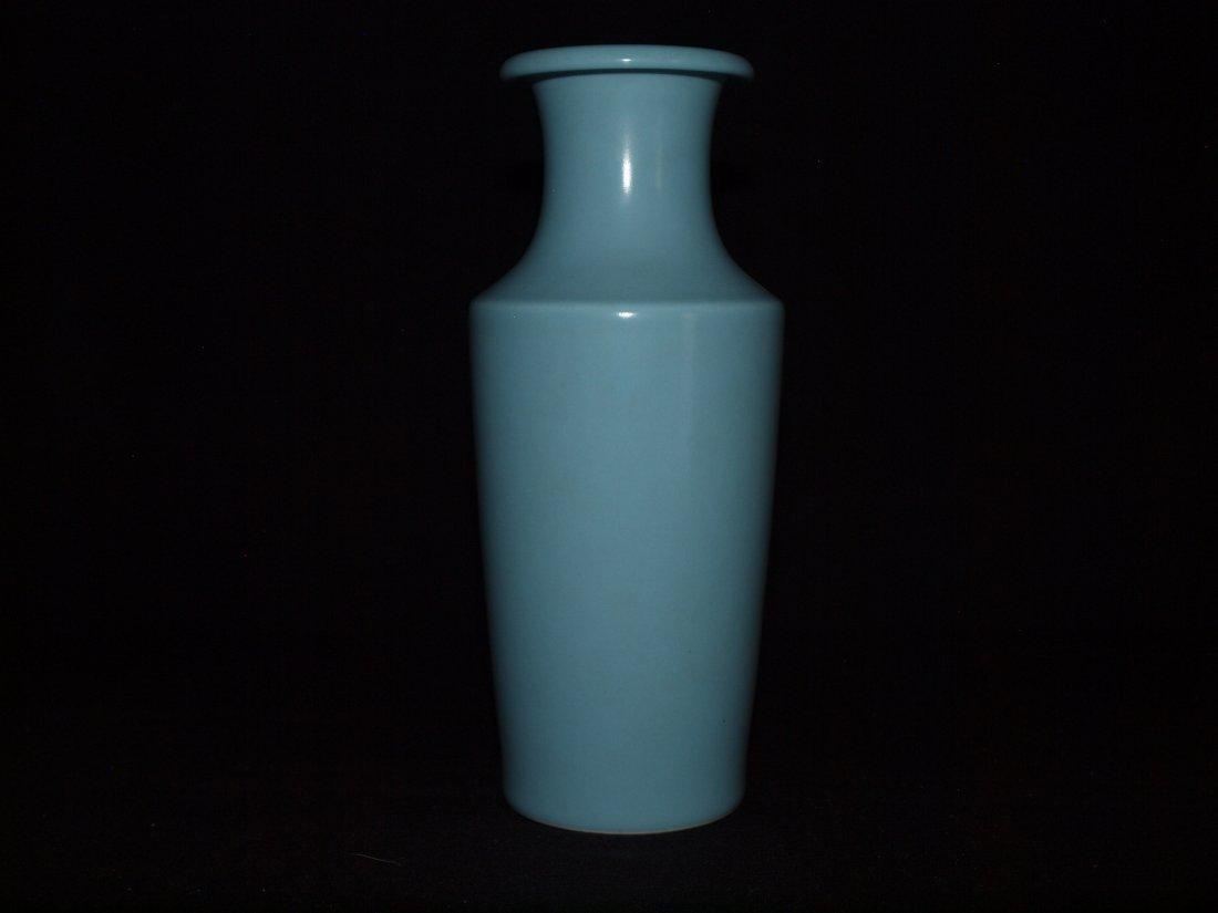 Light Blue Vase