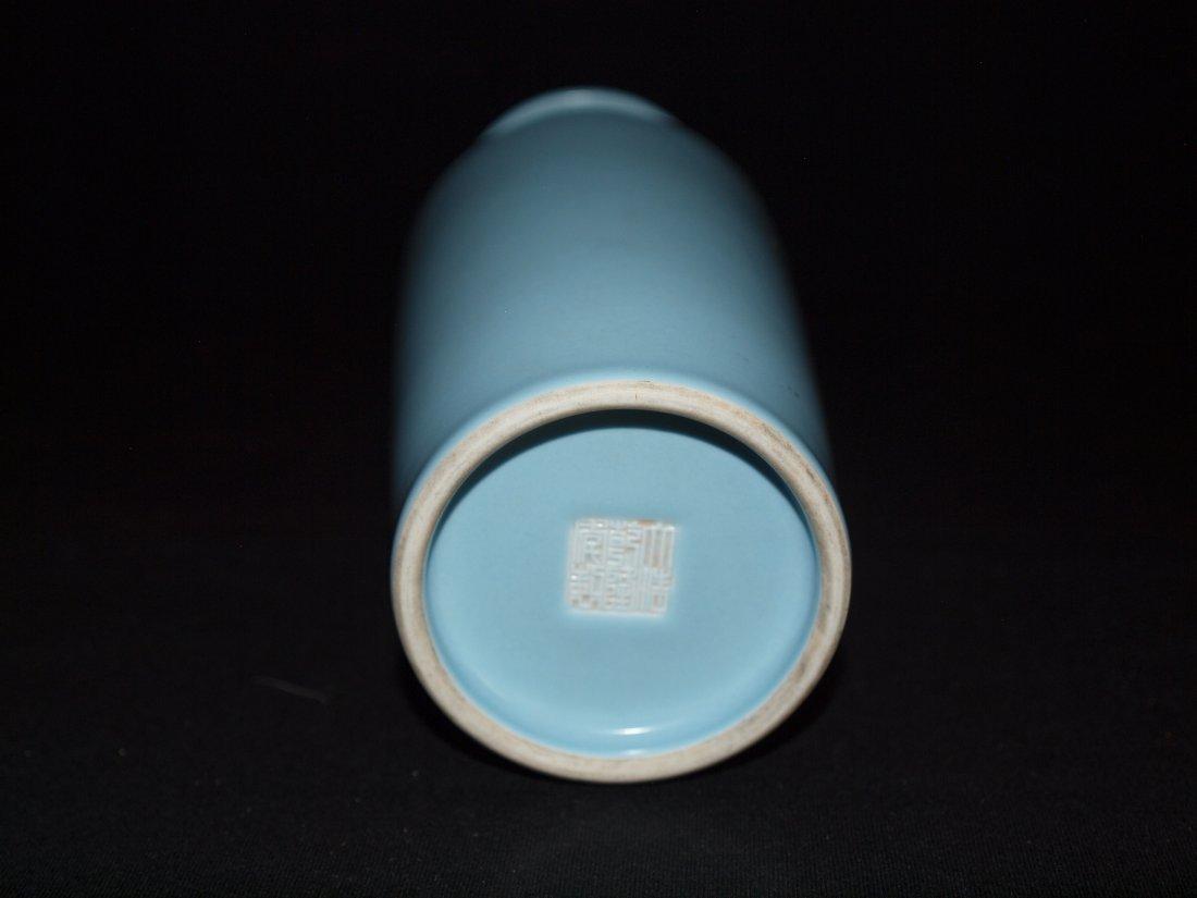 Light Blue Vase - 2