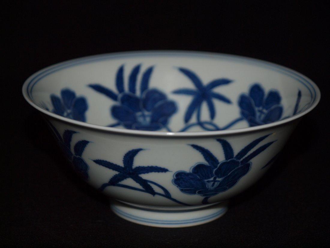 Blue & White  Bowl