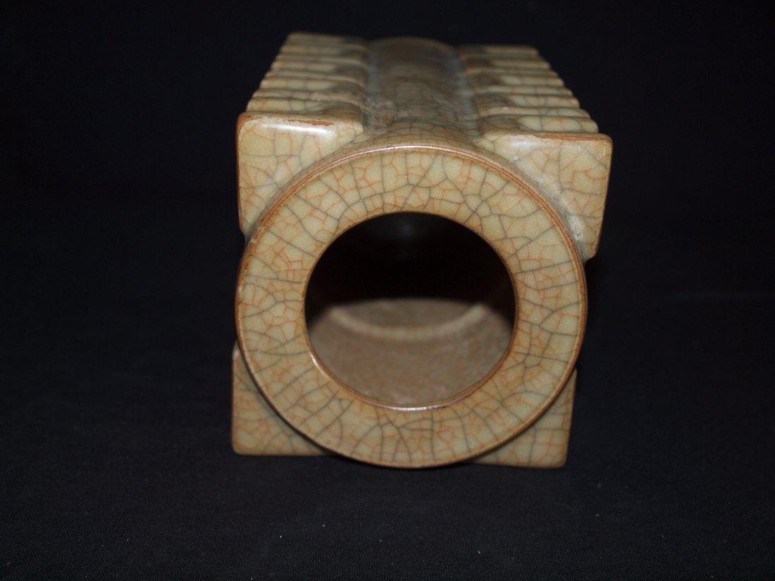 Square Light Colour Vase - 3