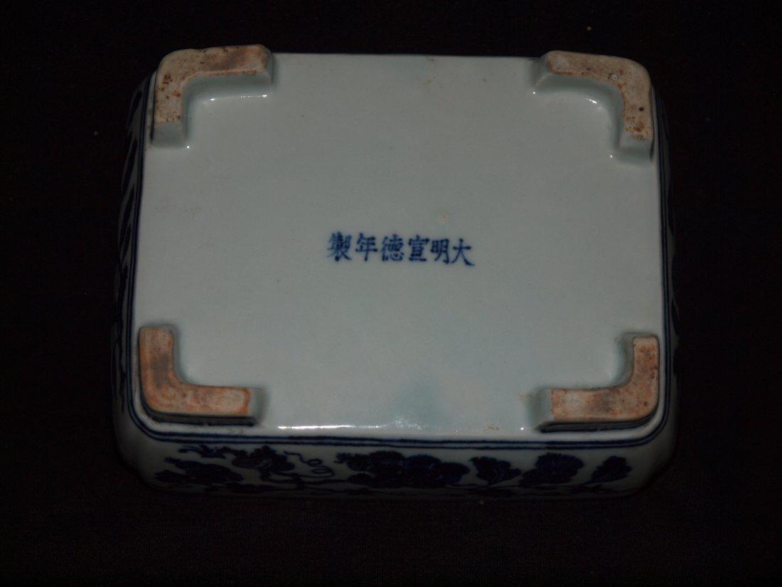 Blue & White  Planner - 4