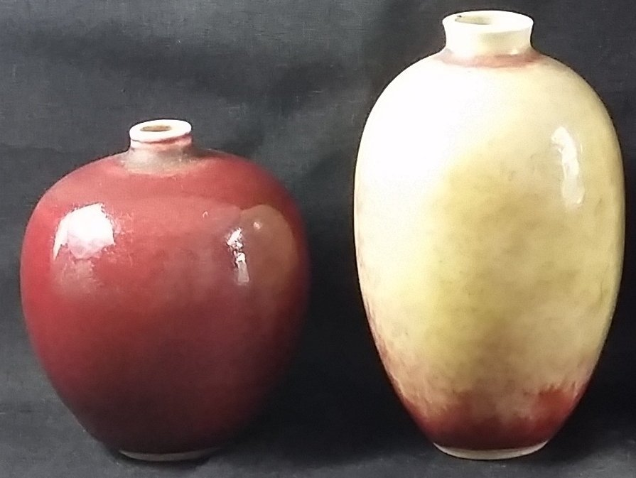 A group of two Chinese Miniature Porcelain Vases