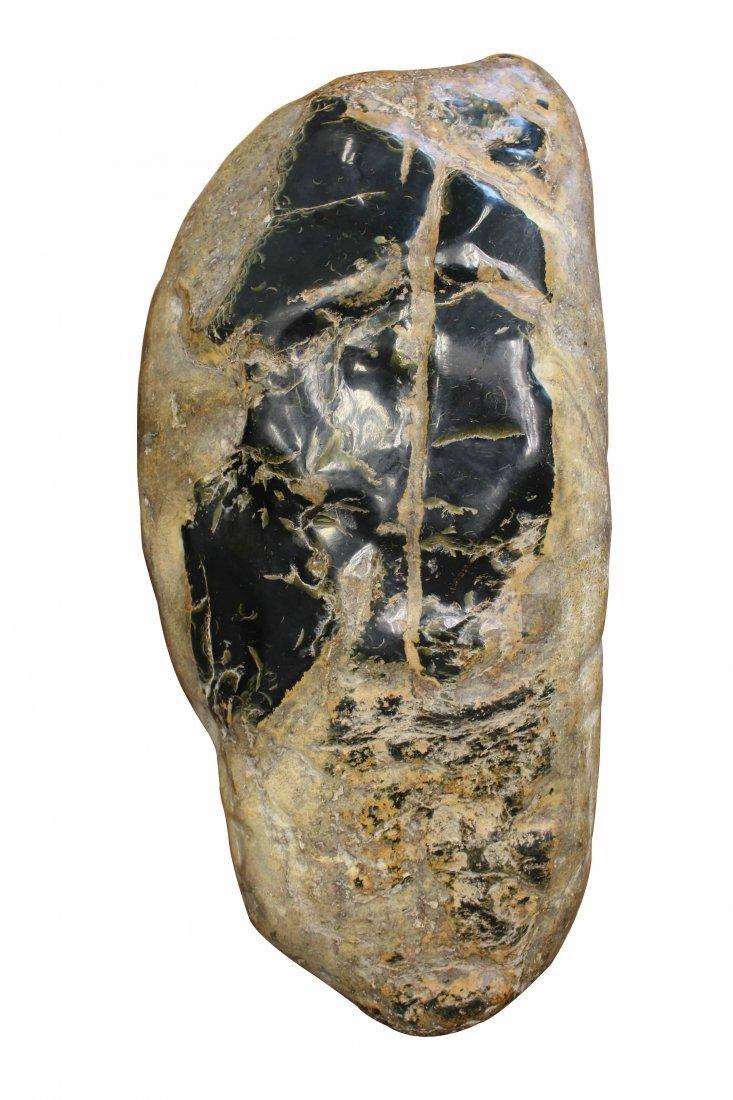 A Raw River Jade Stone