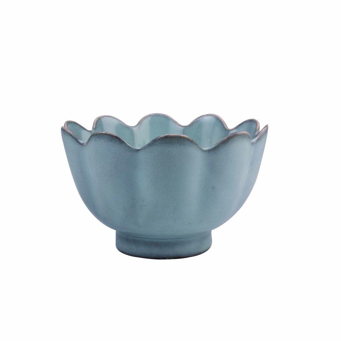 """""""Ru"""" ware Celadon 'Lotus' Bowl"""