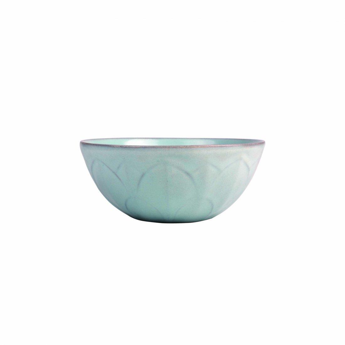 A 'Ru' ware Celadon 'Lotus' Bowl