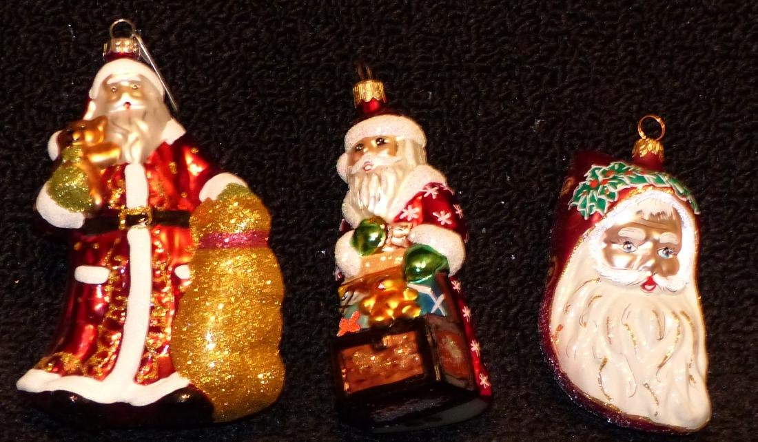 (1) Christopher Radko and Other Christmas Ornaments