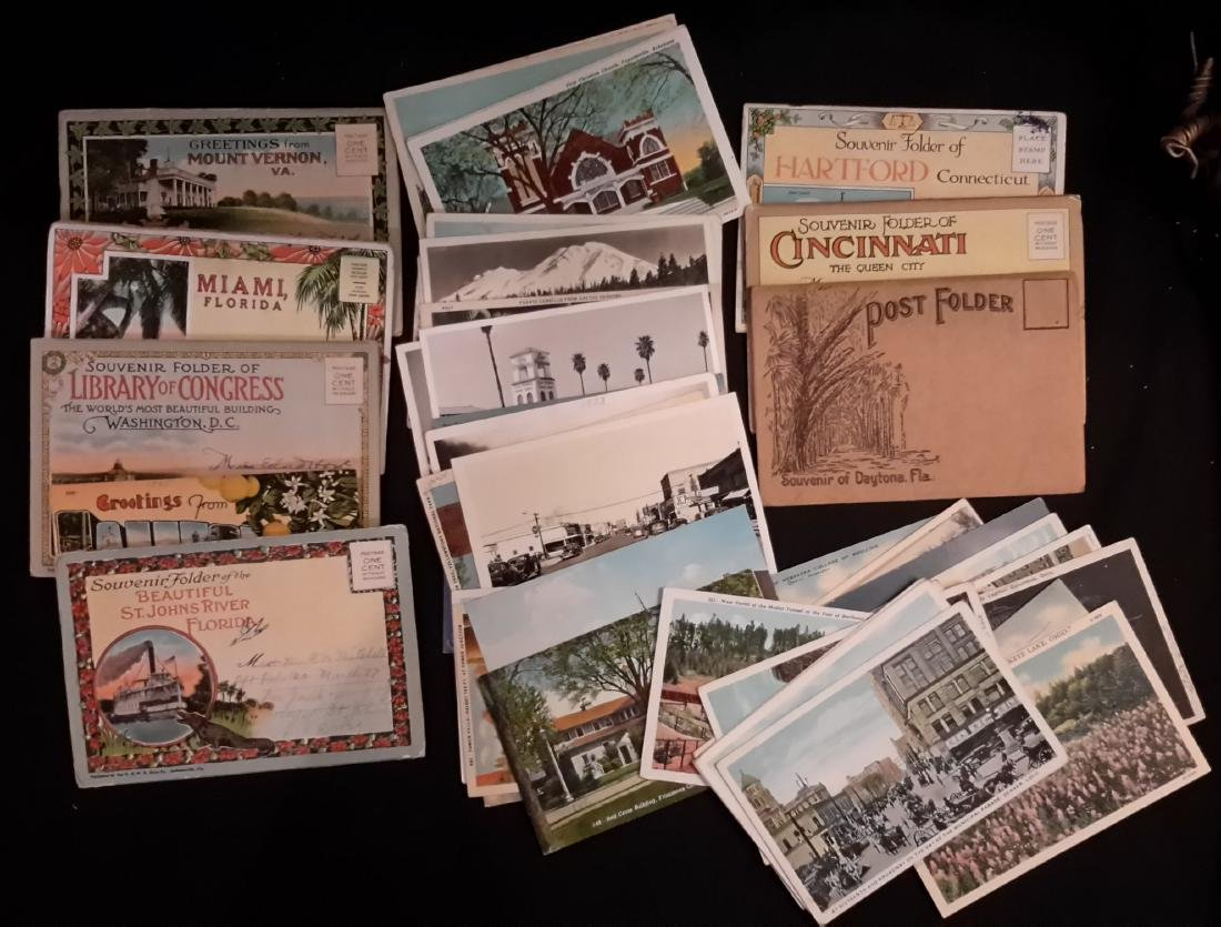 Souvenir Postcards