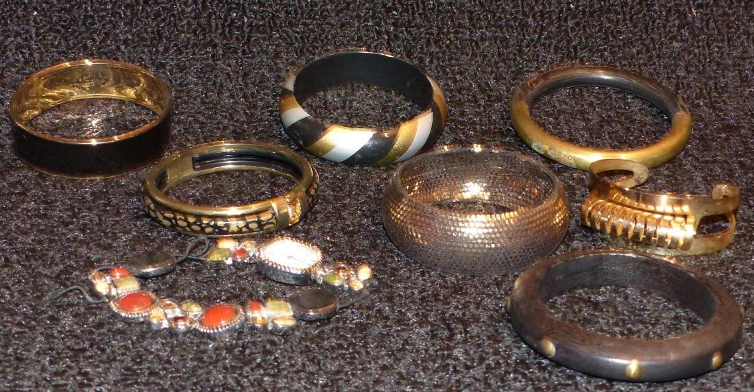 7 Bracelets and Watch