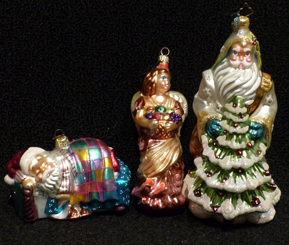 Christopher Radko Ornaments (3)