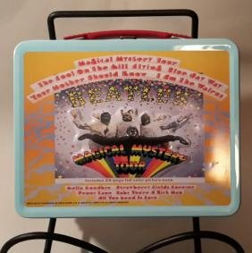Beatles Magical Mystery Tour Lunch Pail
