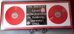 Beatles LP of Live at the Star Club in Hamburg 1962