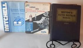 Service Manuals: Mitchell, Autolite, Motor's Auto