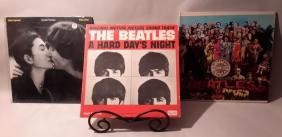 Beatles Lp: Sgt. Peppers Lonely Heart, Hard Days Night,