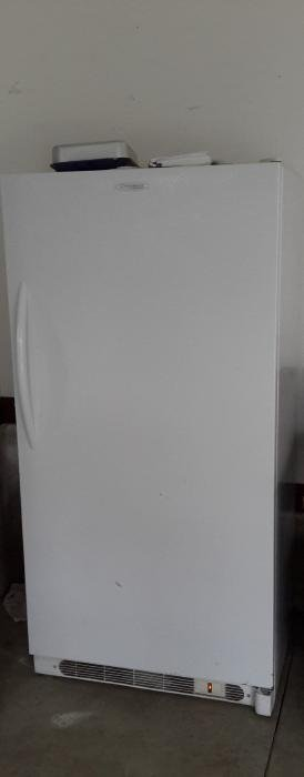 Frigidaire Upright Commercial White Freezer