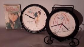 John Lennon Clocks and John Lennon Book