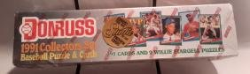 1991 Collector Set Donruss Baseball Cards and Puzzle