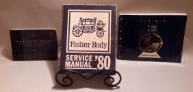 Service Manuals: Mercedes Benz, Fisher Body 90, 1999