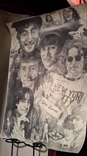 Beatles John Lennon Poster