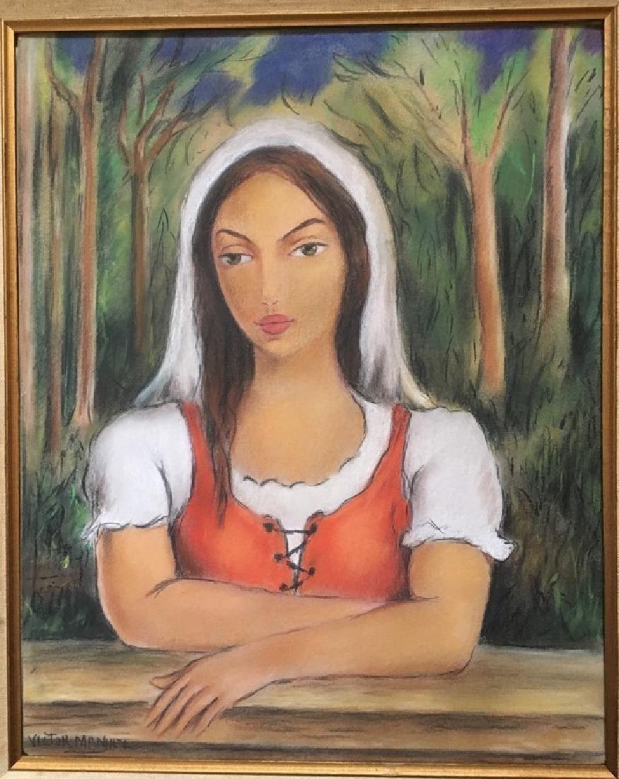 VICTOR MANUEL CUBAN CUBA ART