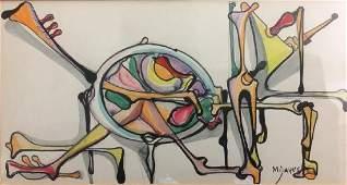 JOSE MARIA MIJARES CUBAN CUBA ART