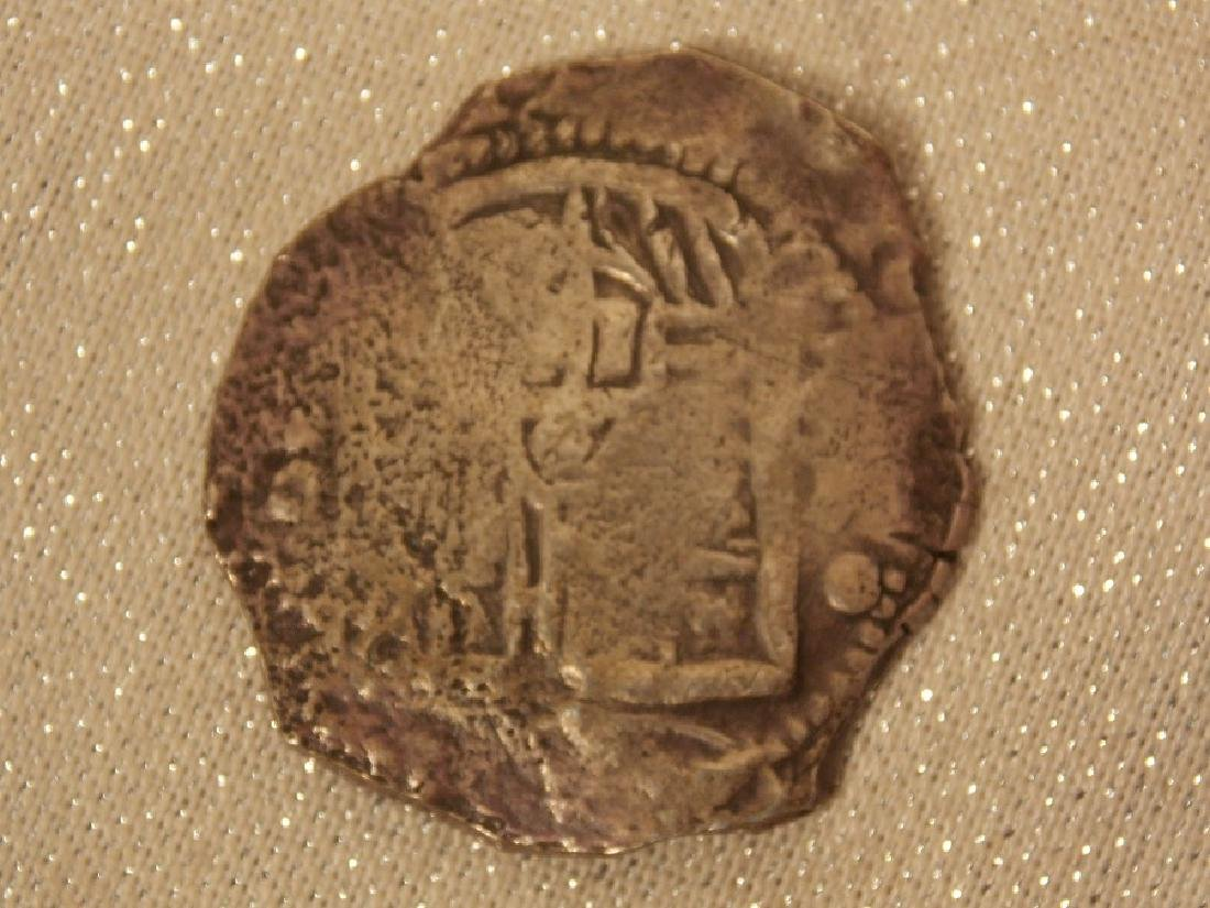EARLY SPANISH SILVER DOUBLOON COIN