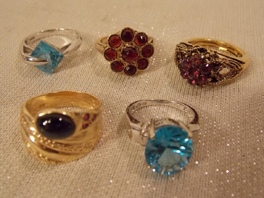 LOT MOSTLY 14K GOLD JEWELRY