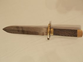 CIVIL WAR ERA GRAVELEY BOWIE KNIFE