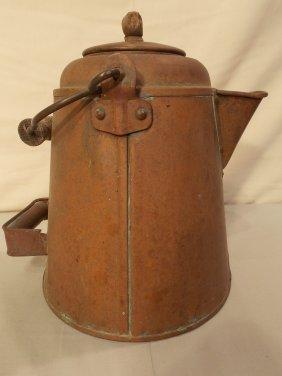 1865 CIVIL WAR COFFEE POT