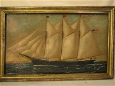 WP STUBBS SHIP PAINTING OF SALLY ION