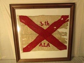 ALABAMA CIVIL WAR BATTLE FLAG