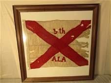 ALABAMA CIVIL WAR ERA BATTLE FLAG
