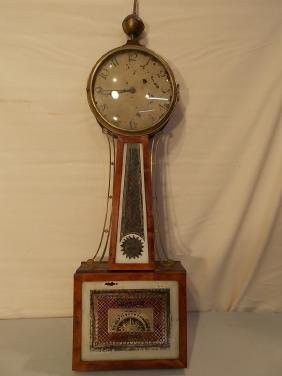 ANTIQUE WILLARD BANJO CLOCK
