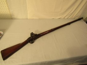 WAR OF 1812 MUSKET SIGNED JENKS