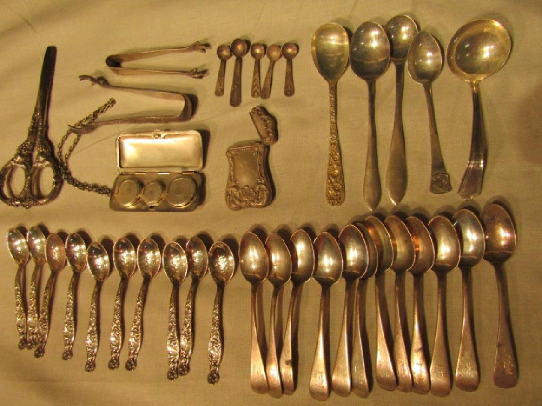 LOT MOSTLY STERLING SILVER ITEMS