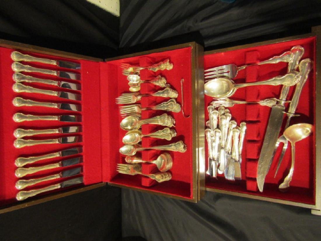 198 PC TOWLE STERLING FRENCH PROVINCIAL SET