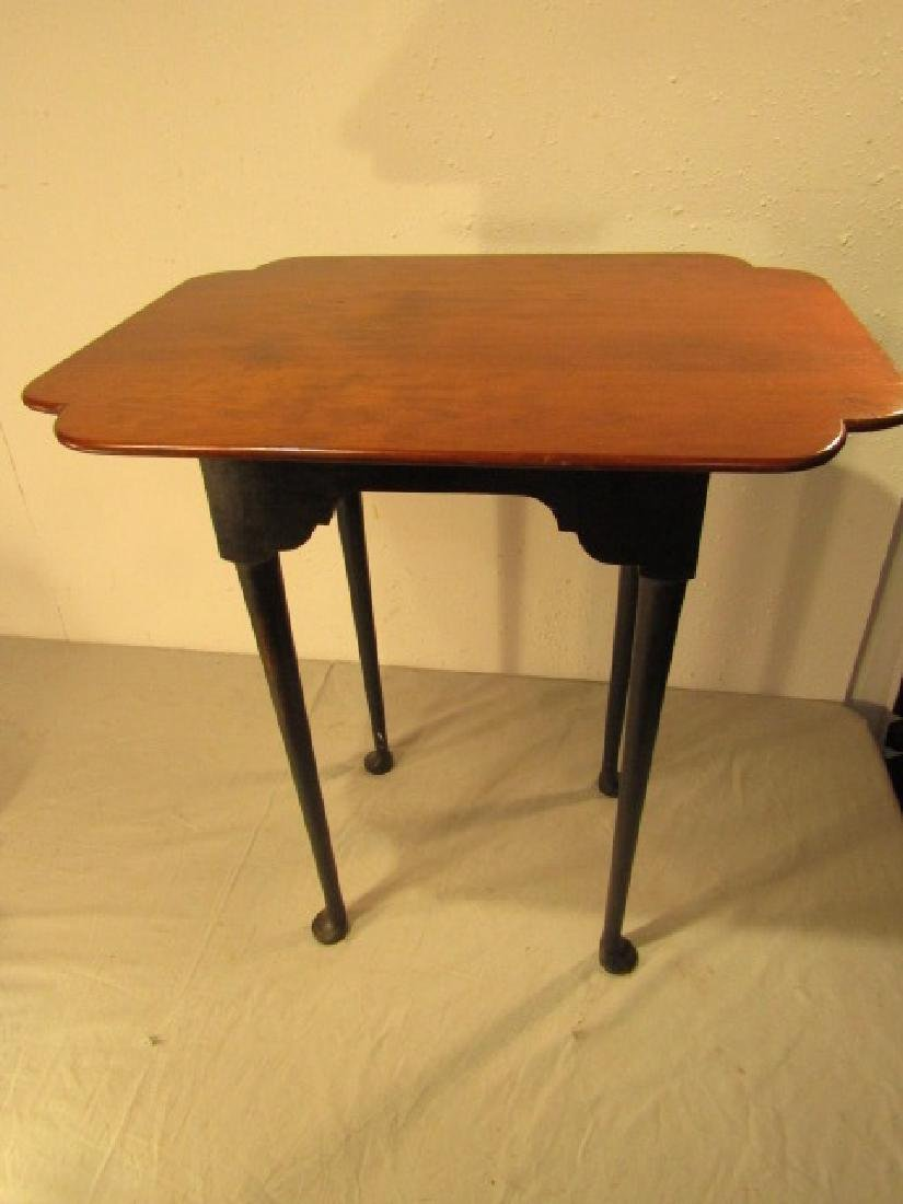ELDRED WHEELER MAPLE TEA TABLE