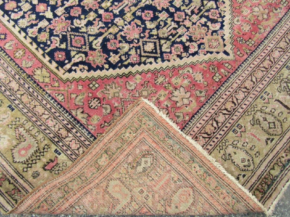 ANTIQUE HAMADAN CORRIDOR RUG - 2