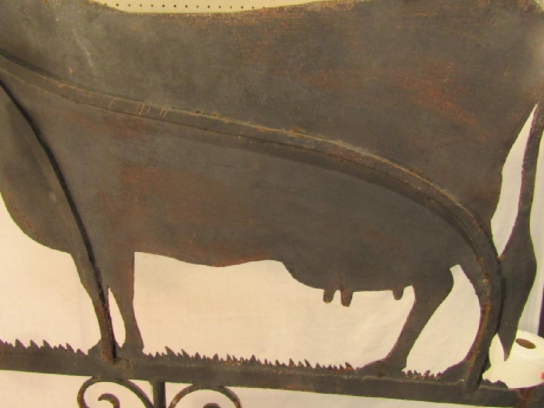 ANTIQUE COW WEATHERVANE - 2