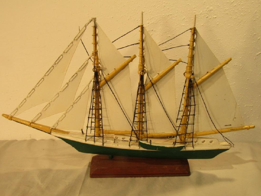 FRANK ADAMS SHIP WEATHERVANE